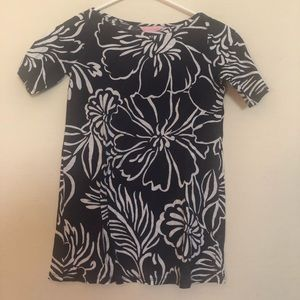 Lilly Pulitzer T-shirt Dress Size M 6-7